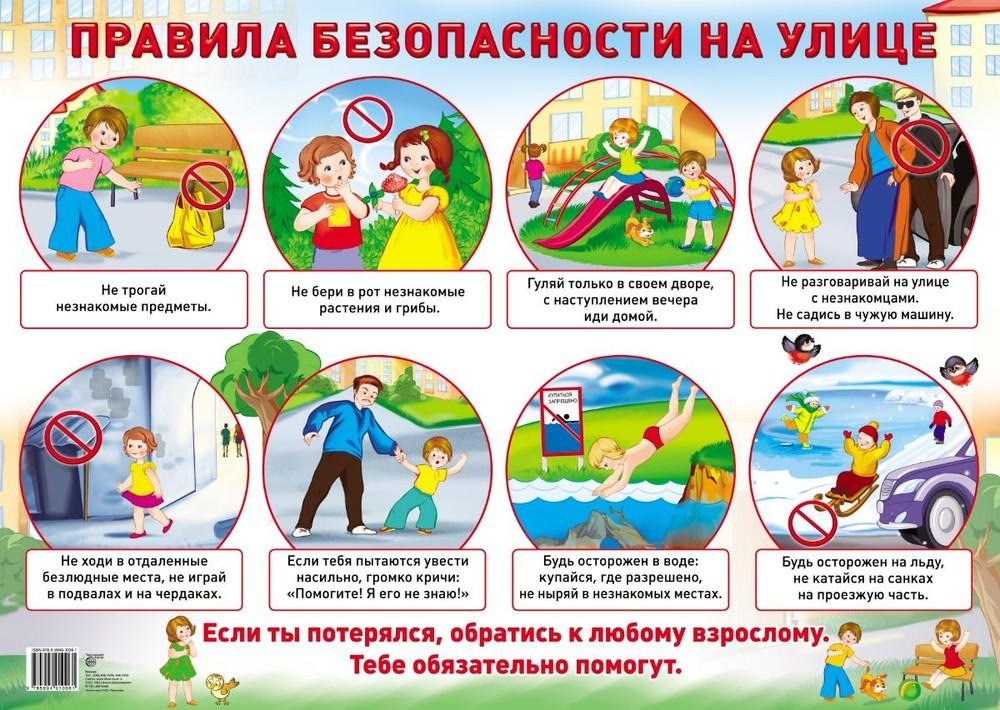 Правила безопасности в летний период картинка